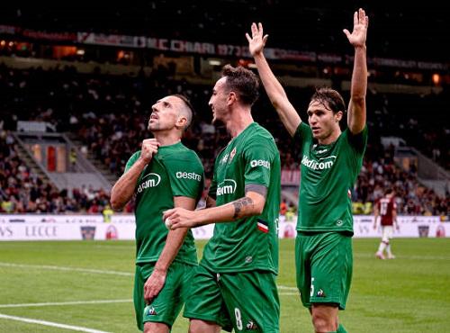 Lão tướng Ribery tỏa sáng, Fiorentina vùi dập AC Milan