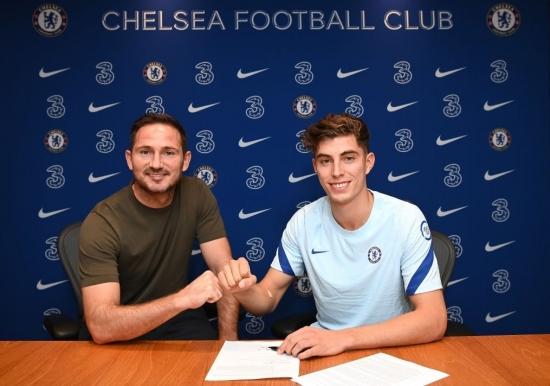 Chelsea chiêu mộ thành công Kai Havertz