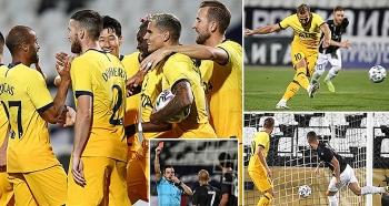 Lokomotiv Plovdiv 1-2 Tottenham: