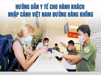 Hành khách nhập cảnh Việt Nam theo đường hàng không phải làm thủ tục gì?