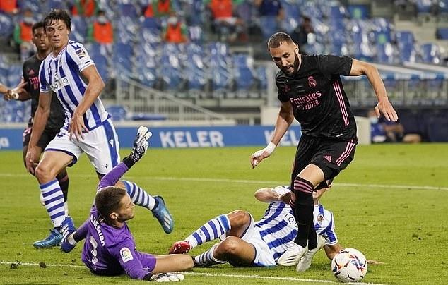 Sociedad 0-0 Real Madrid: Hàng công tịt ngòi, Real khởi đầu nhọc nhằn