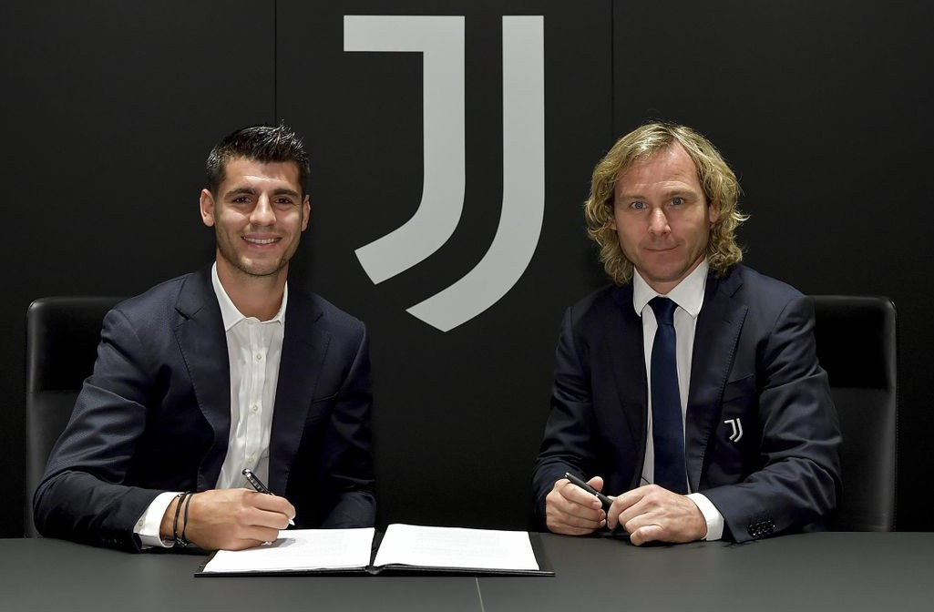 Alvaro Morata chính thức trở lại Juventus