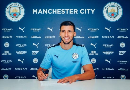 Ruben Dias cập bến Man City với giá 64 triệu bảng