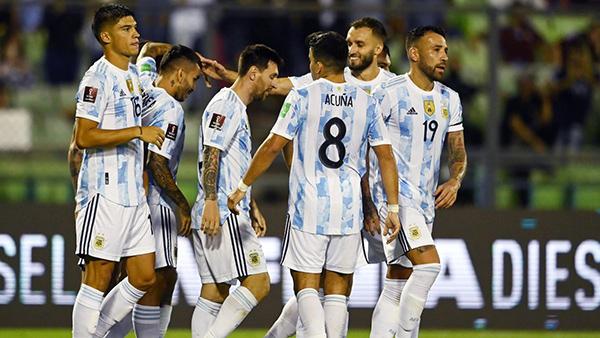 Venezuela 1-3 Argentina: Messi im tiếng nhưng Argentina vẫn có 3 điểm dễ dàng