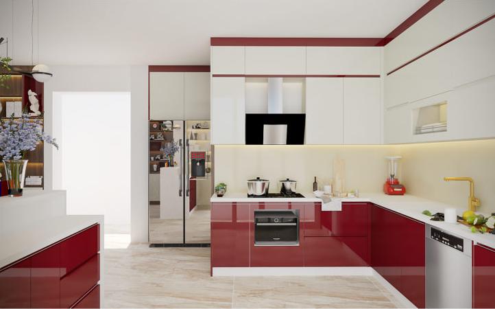 Những lưu ý khi chọn màu sắc cho tủ bếp
