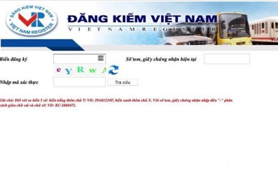 Hướng dẫn cách tra cứu xe bị cảnh báo từ chối đăng kiểm