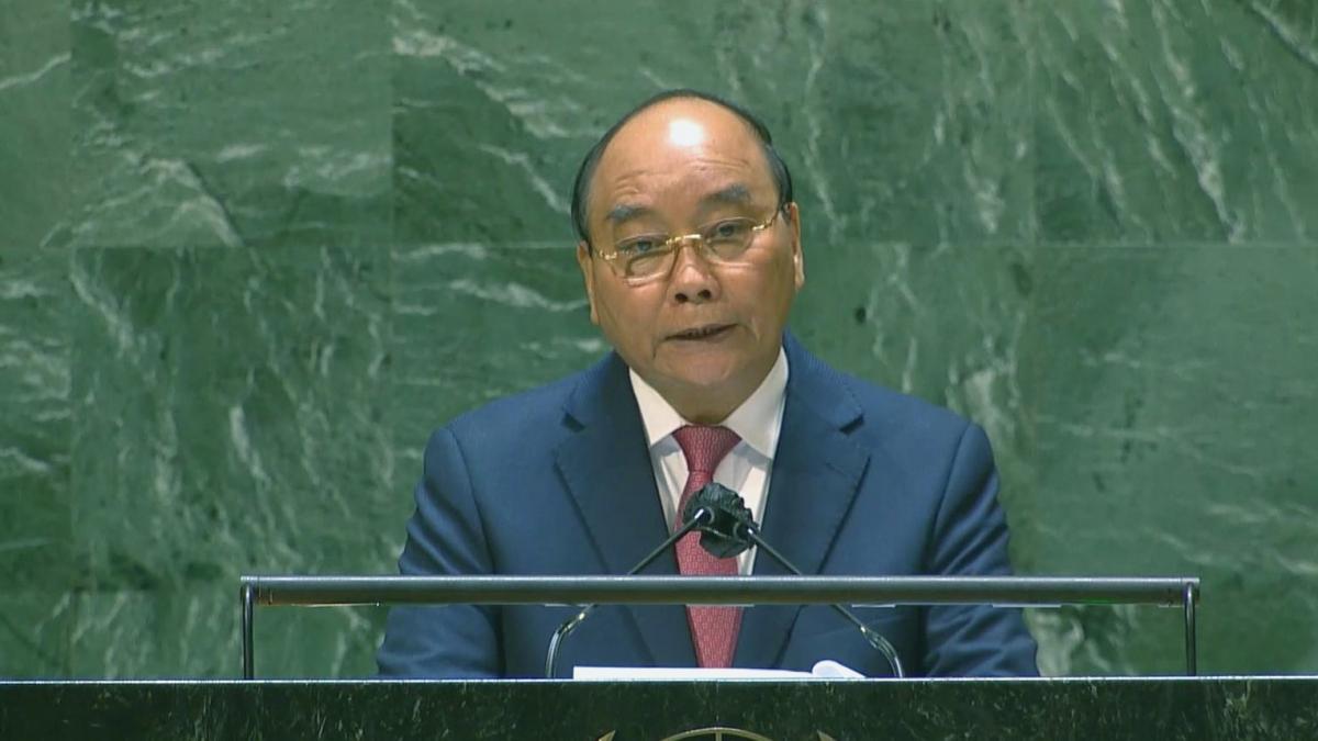Toàn văn phát biểu của Chủ tịch nước Nguyễn Xuân Phúc tại phiên họp Đại hội đồng Liên Hợp Quốc
