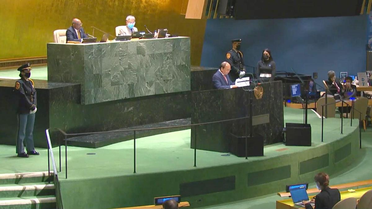 Phiên thảo luận chung Cấp cao Khoá họp 76 Đại hội đồng LHQ