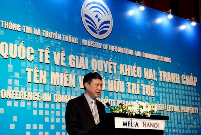 Giải quyết tranh chấp tên miền '.vn' sẽ theo thông lệ quốc tế