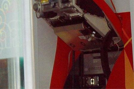 Đem bom tự chế đi phá cây ATM để trộm tiền