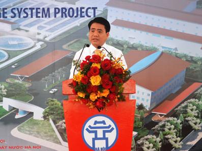 Hà Nội khởi công dự án làm sạch lại sông Tô Lịch, sông Lừ