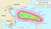 Áp thấp vừa tan, siêu bão mới tiến sát Biển Đông
