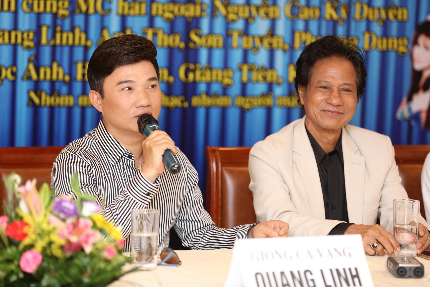 Chế Linh hội ngộ Quang Linh trong liveshow riêng tại Hà Nội
