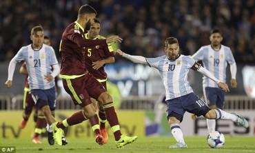 Vòng loại World Cup 2018 khu vực Nam Mỹ: Ông lớn lâm nguy