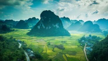 Hình ảnh phong cảnh núi rừng Cao Bằng tuyệt đẹp