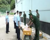 Tháng 9, lực lượng Hải quan bắt giữ và xử lý hơn 1.400 vụ vi phạm