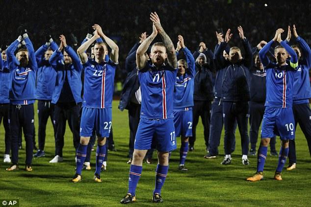 Tạo nên 'địa chấn', Iceland lần đầu dự World Cup