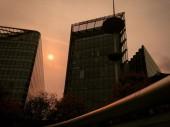 Bầu trời đỏ ở London
