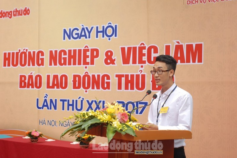 tung bung ngay hoi huong nghiep va viec lam bao lao dong thu do lan thu xxi nam 2017 62499