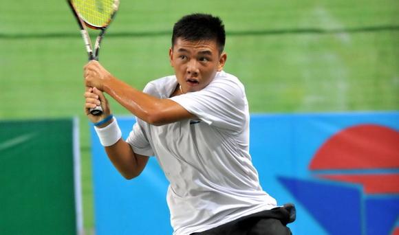 Lý Hoàng Nam bị loại ngay ở vòng 1 Hưng Thịnh Vietnam Open 2017