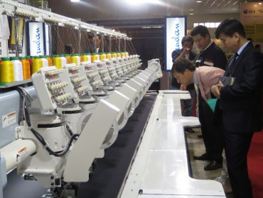 150 doanh nghiệp 'ngoại' tham dự Hanoi Tex 2017