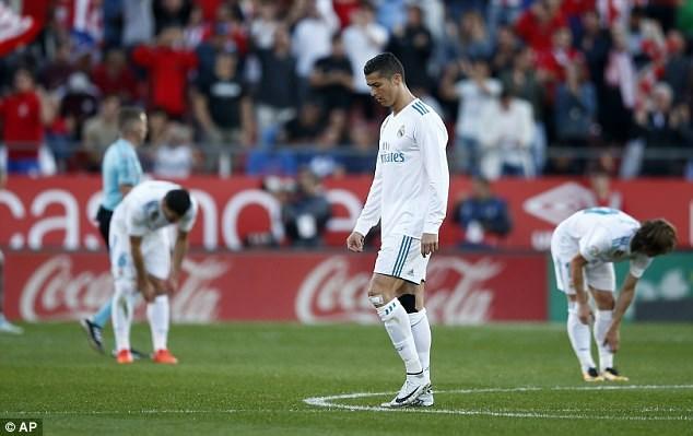 Girona 2-1 Real Madrid: 'Kền kền' gẫy cánh