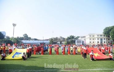 Khai mạc Giải Bóng đá Cúp báo Lao động Thủ Đô lần thứ IV