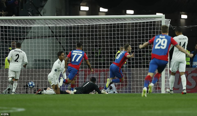 CSKA Moscow 1-0 Real Madrid: 'Kền kền' gãy cánh tại Luzhniki