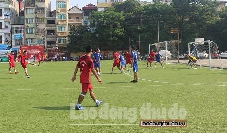 Ngày thi đấu thứ 3 Giải Bóng đá Cúp báo Lao động Thủ Đô lần thứ IV