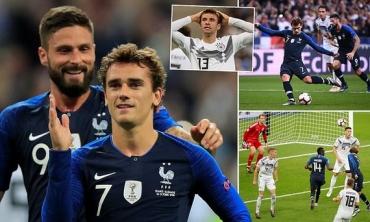 Pháp 2-1 Đức: Kỷ lục buồn của Joachim Low