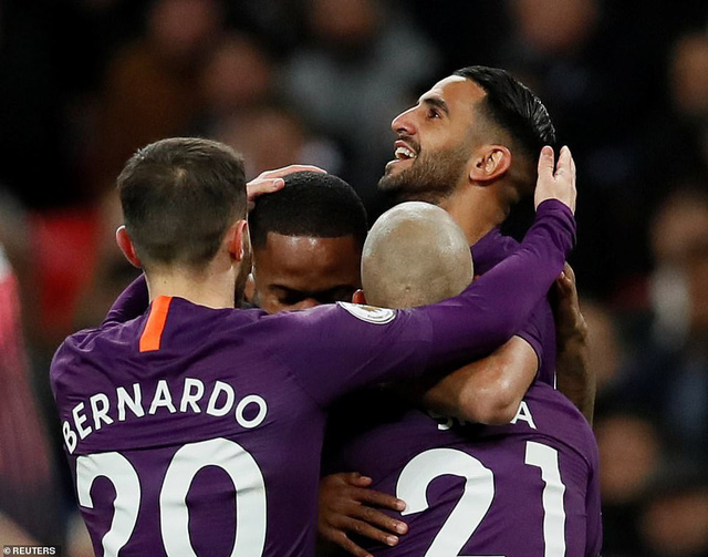 Tottenham 0-1 Man City: Sức mạnh quân vương