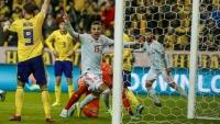 Thụy Điển 1-1 Tây Ban Nha: 'Bò tót' chính thức giành vé dự Euro 2020