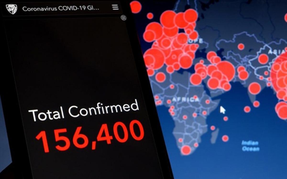 Phần mềm độc hại đội lốt bản đồ Covid-19 do thám điện thoại Android. (Ảnh: Getty Images)