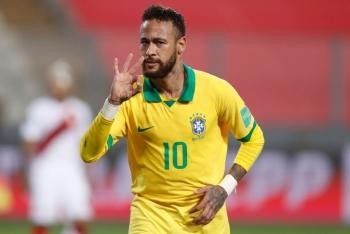 Peru 2-4 Brazil: Neymar tỏa sáng, Brazil đòi lại ngôi đầu