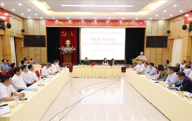 Tổng Bí thư, Chủ tịch nước Nguyễn Phú Trọng tiếp xúc cử tri 3 quận của thành phố Hà Nội