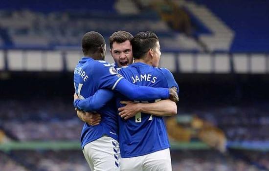 Sau vòng 5 Ngoại hạng Anh: Everton và Aston Villa đánh chiếm 2 vị trí đầu bảng