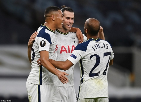 Tottenham 3-0 LASK: Tân binh ra mắt hoàn hảo