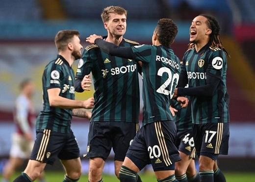 Aston Villa 0-3 Leeds: Ngựa ô thất trận