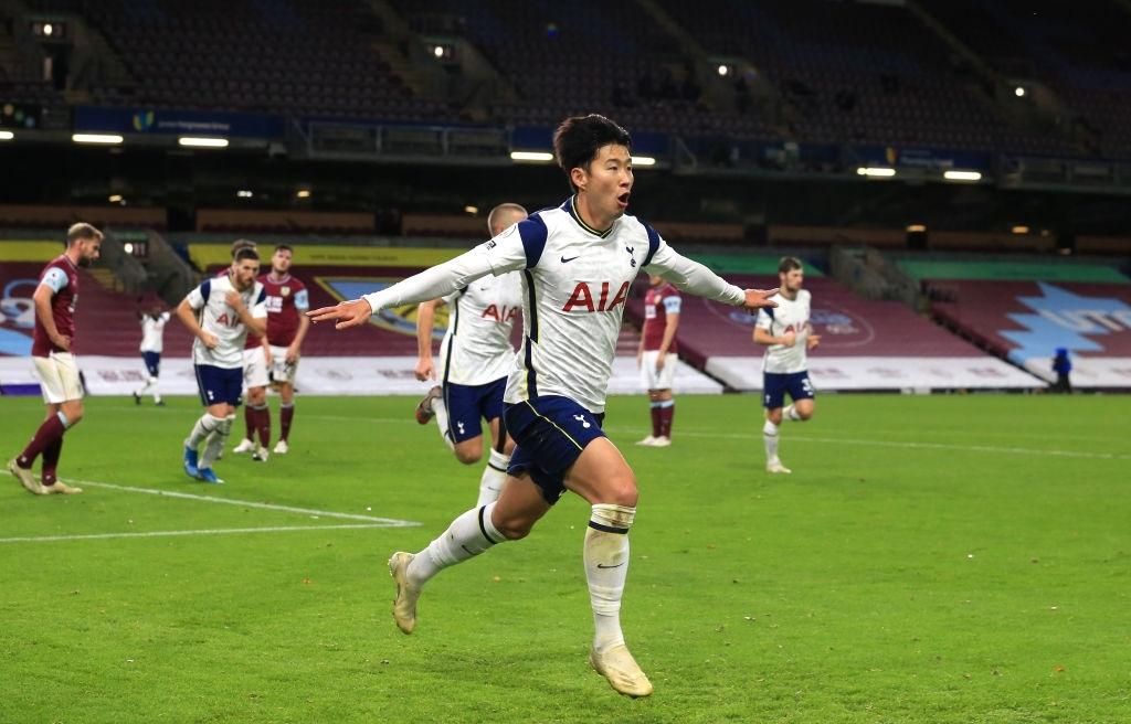 Burnley 0-1 Tottenham: Lại là song sát Son - Kane