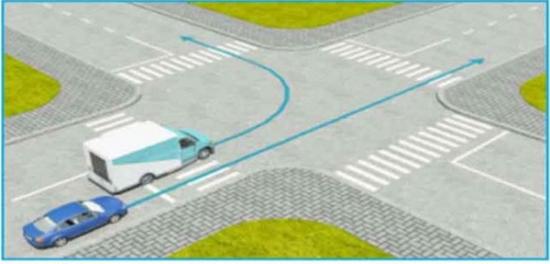Ô tô vượt phải như thế nào để tránh bị phạt?