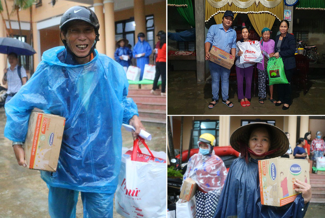 Người lao động Vinamilk góp ngày lương, hỗ trợ miền Trung mùa bão lũ gần 4 tỷ đồng - Ảnh 3.