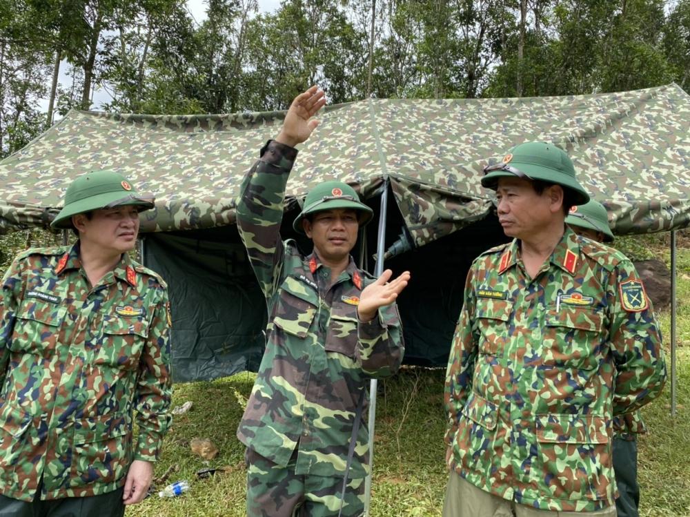 Tăng cường chó nghiệp vụ tìm kiếm nạn nhân vụ sạt lở ở Trà Leng, Quảng Nam