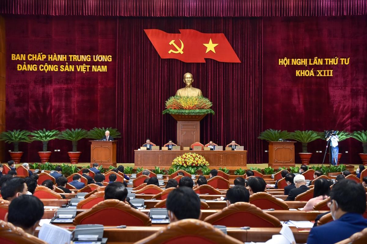 Khai mạc Hội nghị Trung ương 4 khóa XIII