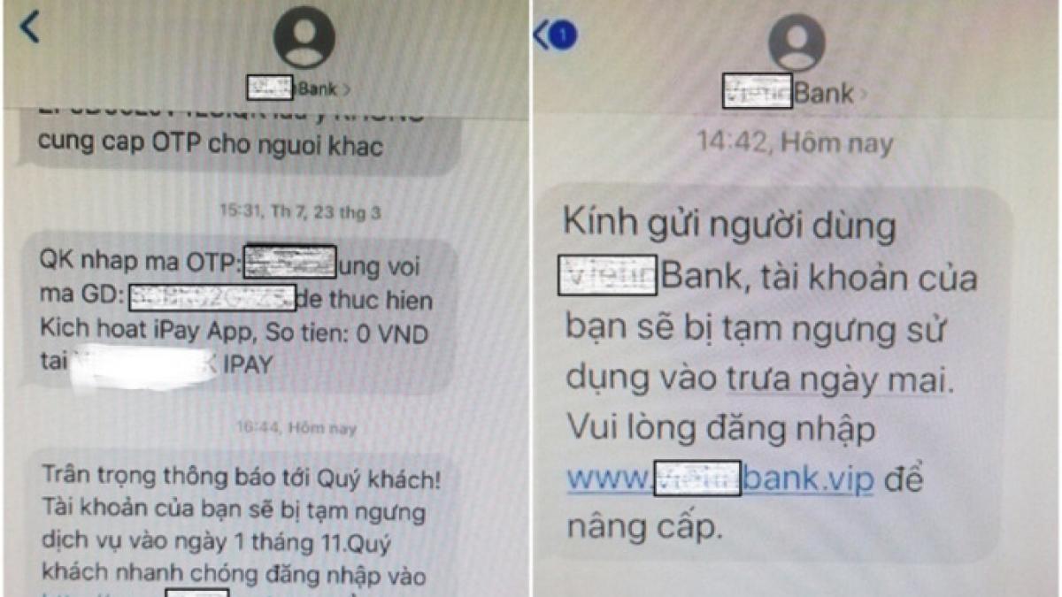 Giả mạo tin nhắn thương hiệu để lừa đảo người tiêu dùng