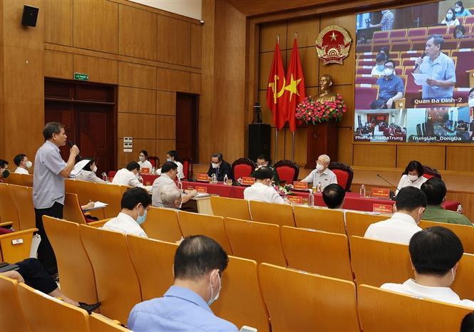 Tổng Bí thư Nguyễn Phú Trọng: Hà Nội phải dẫn đầu, xứng đáng là Thủ đô anh hùng của dân tộc Việt Nam anh hùng