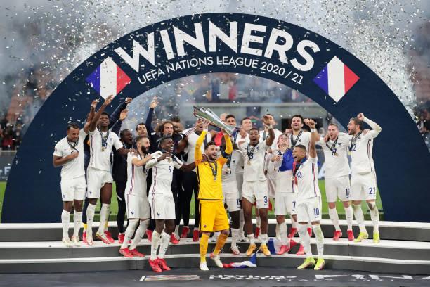 Ngược dòng thành công, tuyển Pháp lên ngôi tại UEFA Nations League