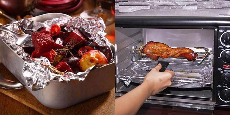 Cách sử dụng giấy bạc trong chế biến thực phẩm