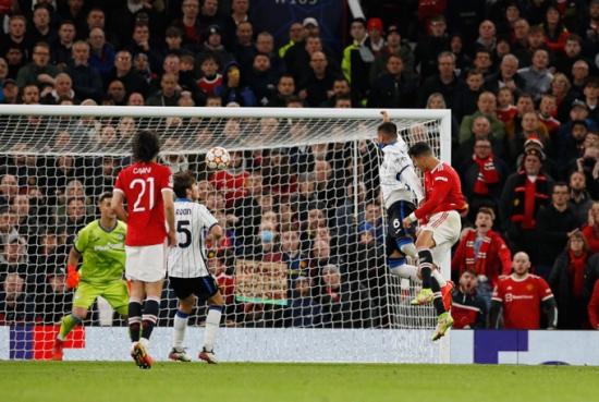 """Man Utd 3-2 Atalanta: Ronaldo ghi bàn, """"Quỷ đỏ"""" ngược dòng kịch tính"""