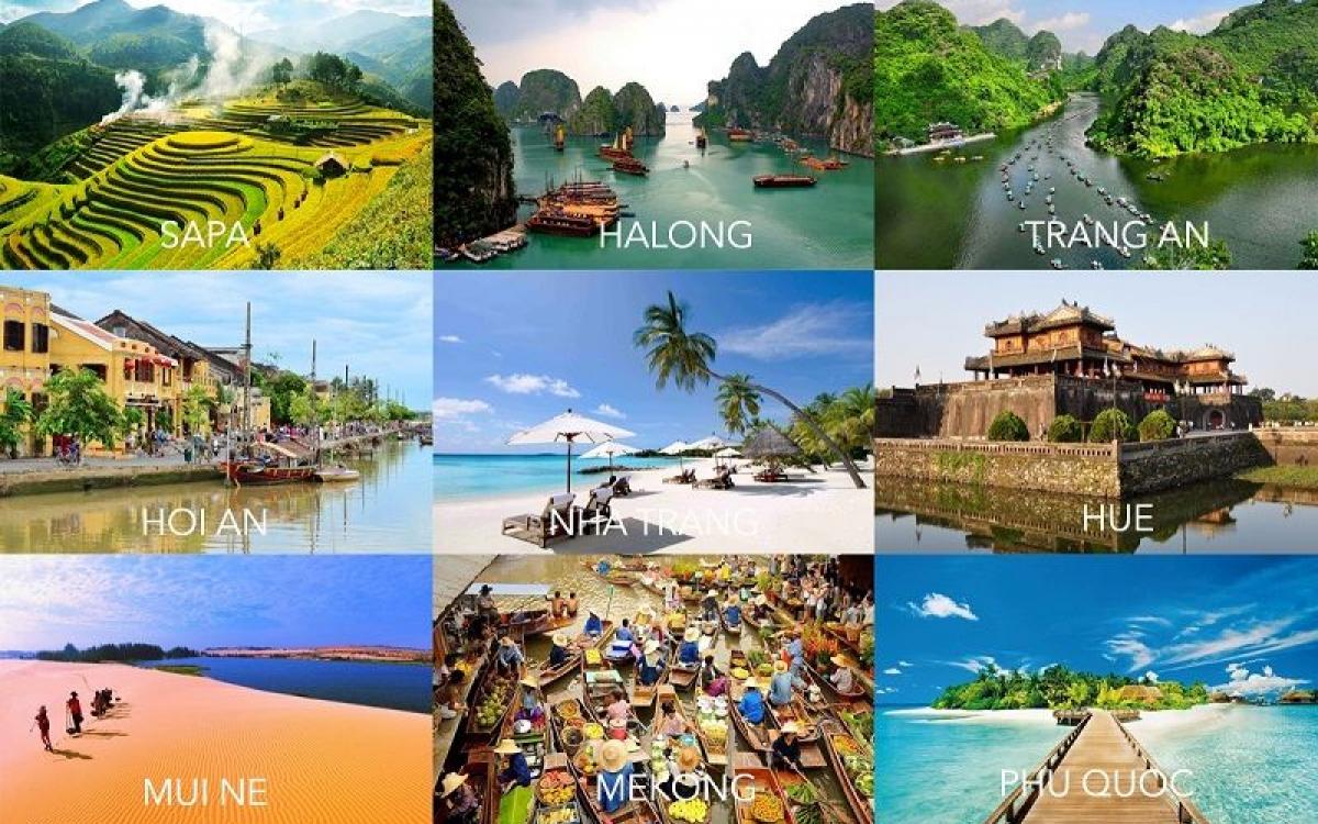 Việt Nam - Điểm đến hàng đầu châu Á năm 2021