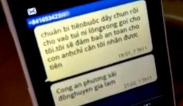 Hà Nội: Bé trai 3 tuổi bị bắt cóc ngay trước cửa nhà